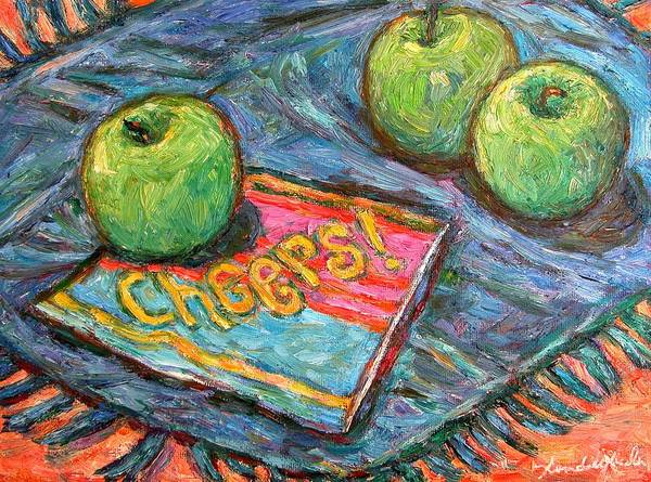Still Life Poster featuring the painting Cheers by Kendall Kessler