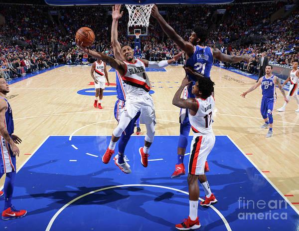 Nba Pro Basketball Poster featuring the photograph Damian Lillard by Jesse D. Garrabrant