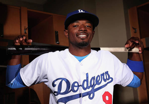 Media Day Poster featuring the photograph Dee Gordon by Christian Petersen
