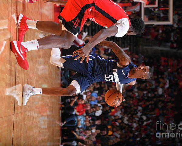Nba Pro Basketball Poster featuring the photograph Delon Wright by Bill Baptist