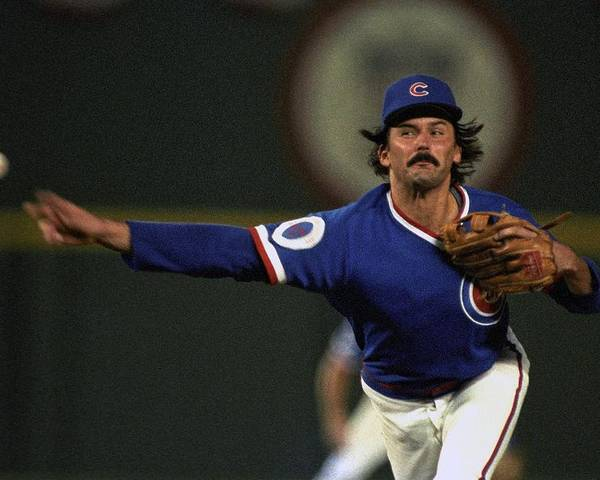 1980-1989 Poster featuring the photograph Dennis Eckersley by Ronald C. Modra/sports Imagery