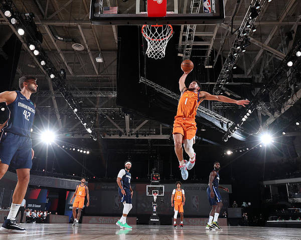 Nba Pro Basketball Poster featuring the photograph Devin Booker by David Sherman