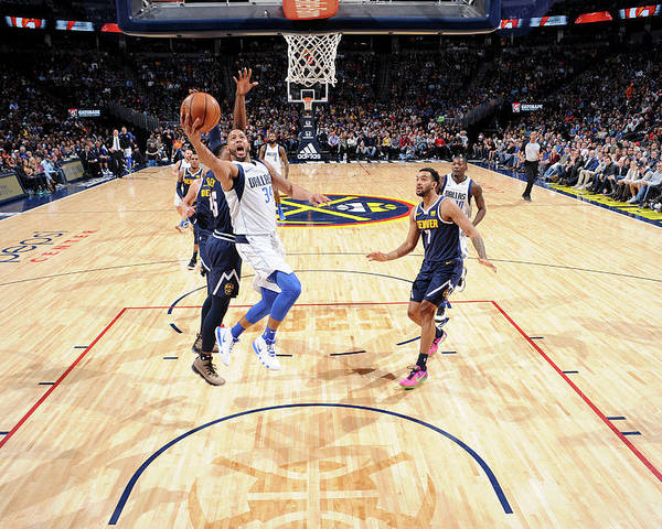 Nba Pro Basketball Poster featuring the photograph Devin Harris by Bart Young