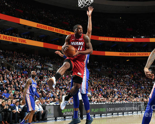 Nba Pro Basketball Poster featuring the photograph Dion Waiters by Jesse D. Garrabrant