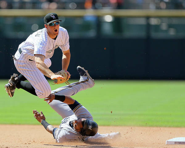 Double Play Poster featuring the photograph Dj Lemahieu by Justin Edmonds