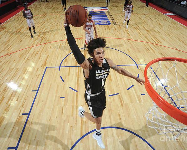 Nba Pro Basketball Poster featuring the photograph D.j. Wilson by Garrett Ellwood