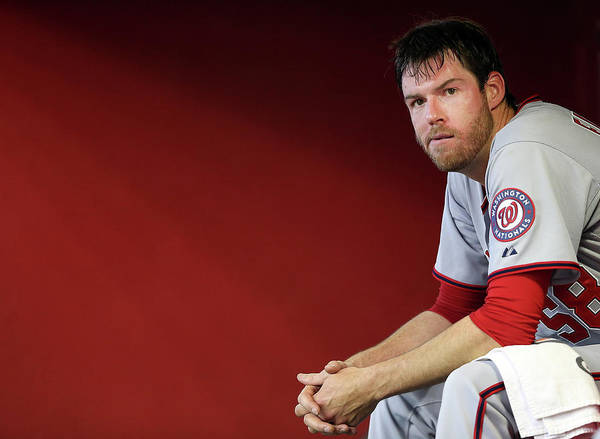 Doug Fister Poster featuring the photograph Doug Fister by Christian Petersen