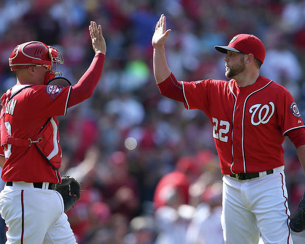 Drew Storen Poster featuring the photograph Drew Storen by Patrick Smith