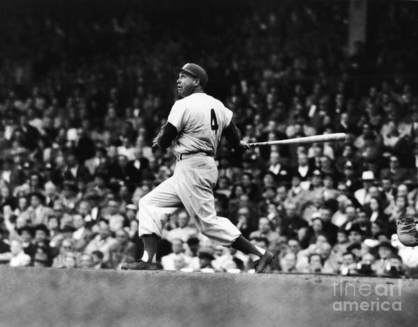 Following Poster featuring the photograph Duke Snider by Robert Riger