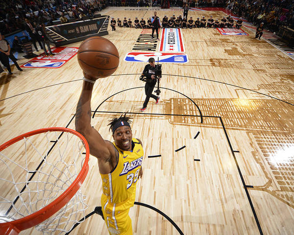 Nba Pro Basketball Poster featuring the photograph Dwight Howard by Jesse D. Garrabrant