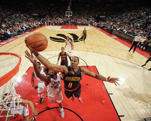 Nba Pro Basketball Poster featuring the photograph Dwight Howard by Ron Turenne