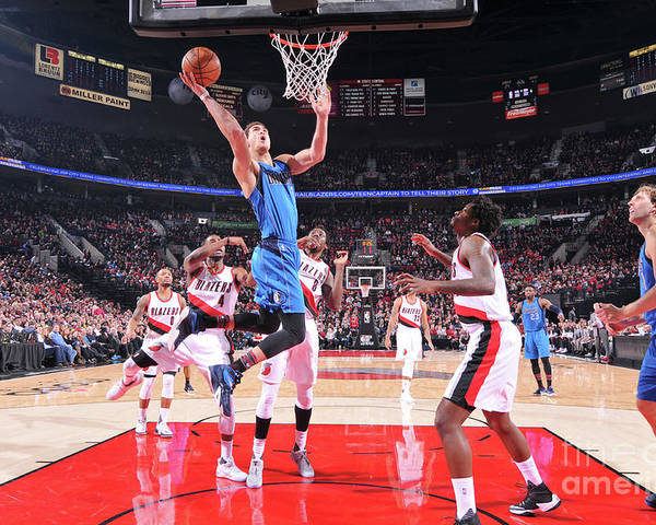 Dwight Powell Poster featuring the photograph Dwight Powell by Sam Forencich