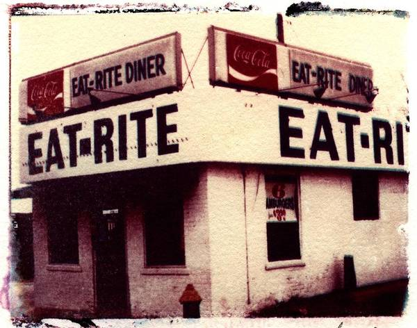 Polaroid Transfer Poster featuring the photograph Eat Rite by Jane Linders