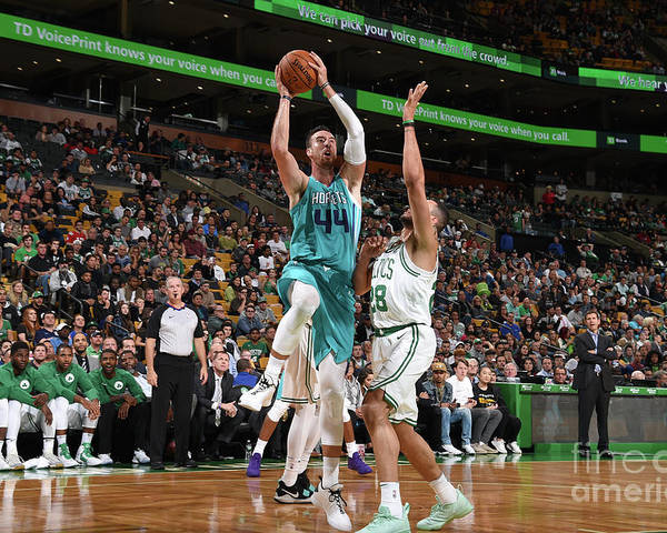 Nba Pro Basketball Poster featuring the photograph Frank Kaminsky by Brian Babineau