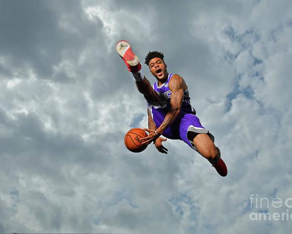 Nba Pro Basketball Poster featuring the photograph Frank Mason by Jesse D. Garrabrant