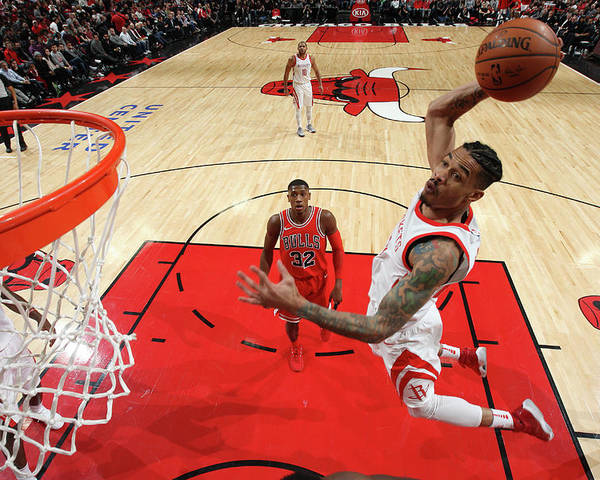 Nba Pro Basketball Poster featuring the photograph Gerald Green by Gary Dineen