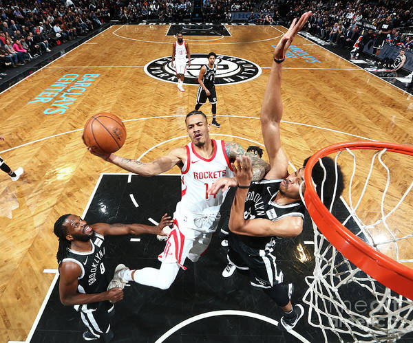 Nba Pro Basketball Poster featuring the photograph Gerald Green by Nathaniel S. Butler