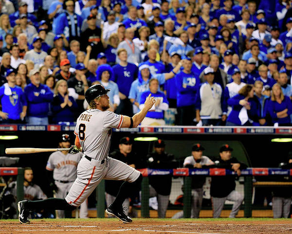 People Poster featuring the photograph Hunter Pence by Rob Carr