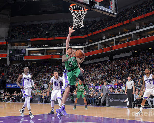 Nba Pro Basketball Poster featuring the photograph Isaiah Thomas by Rocky Widner