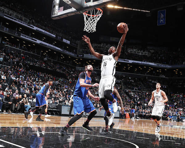 Nba Pro Basketball Poster featuring the photograph Isaiah Whitehead by Nathaniel S. Butler
