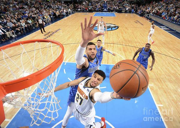 Nba Pro Basketball Poster featuring the photograph Jamal Murray by Glenn James