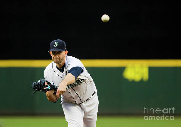 Second Inning Poster featuring the photograph James Paxton by Lindsey Wasson