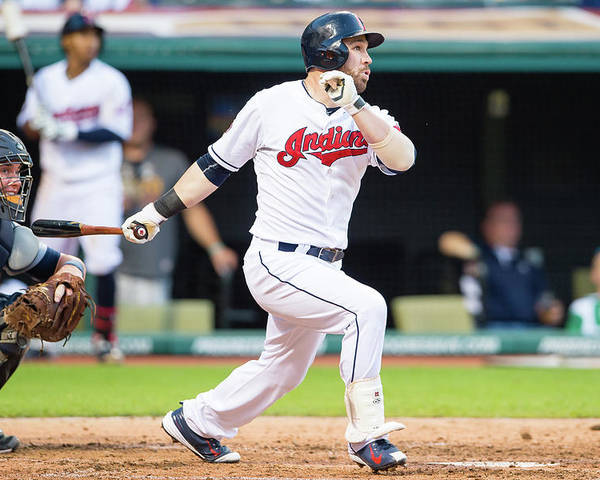 People Poster featuring the photograph Jason Kipnis by Jason Miller