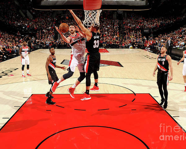 Nba Pro Basketball Poster featuring the photograph Jason Smith by Cameron Browne