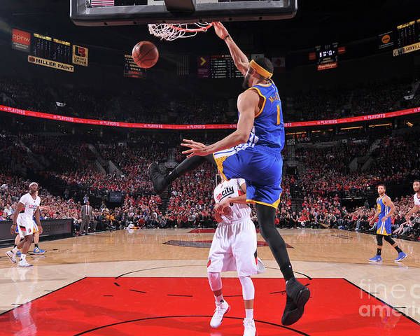 Playoffs Poster featuring the photograph Javale Mcgee by Sam Forencich