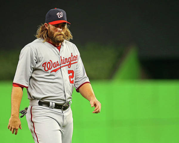 American League Baseball Poster featuring the photograph Jayson Werth by Mike Ehrmann