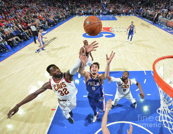 Nba Pro Basketball Poster featuring the photograph Jeff Green by Jesse D. Garrabrant