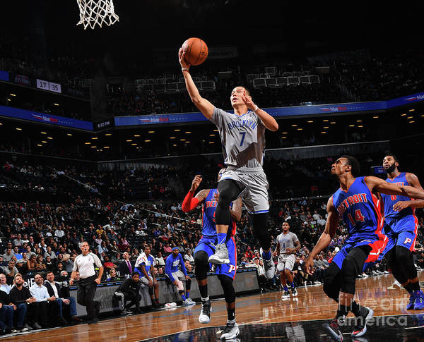 Nba Pro Basketball Poster featuring the photograph Jeremy Lin by Jesse D. Garrabrant