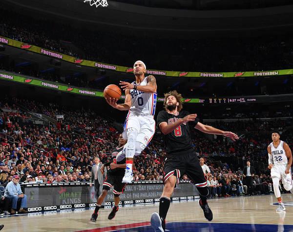 Nba Pro Basketball Poster featuring the photograph Jerryd Bayless by Jesse D. Garrabrant