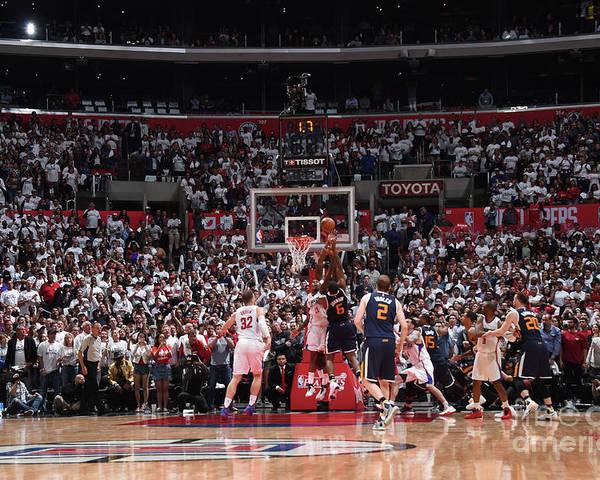 Playoffs Poster featuring the photograph Joe Johnson by Andrew D. Bernstein