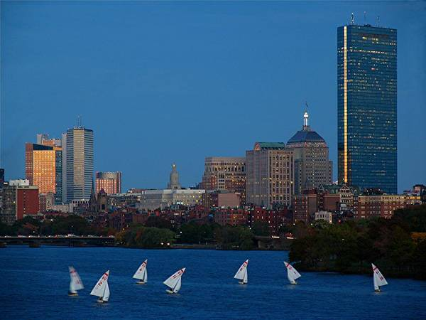 Boston Poster featuring the photograph John Hancock Building by Juergen Roth