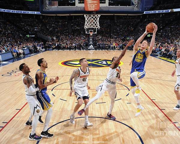 Nba Pro Basketball Poster featuring the photograph Jonas Jerebko by Bart Young
