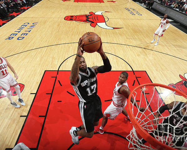 Nba Pro Basketball Poster featuring the photograph Jonathon Simmons by Nathaniel S. Butler