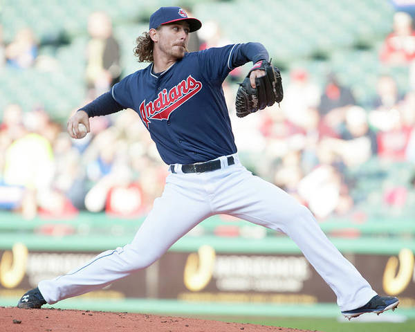 Second Inning Poster featuring the photograph Josh Tomlin by Jason Miller