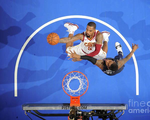 Nba Pro Basketball Poster featuring the photograph J.r. Smith by Chris Schwegler