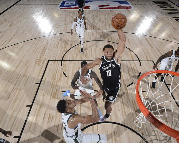 Nba Pro Basketball Poster featuring the photograph Justin Anderson by David Dow