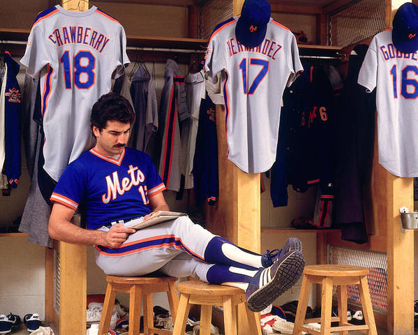 1980-1989 Poster featuring the photograph Keith Hernandez by Ronald C. Modra/sports Imagery