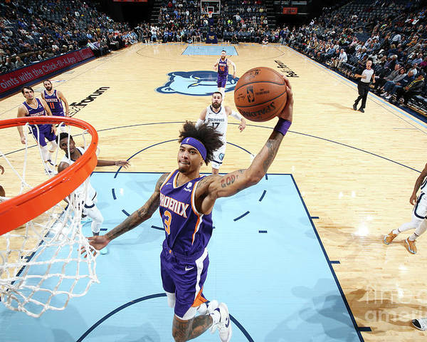 Nba Pro Basketball Poster featuring the photograph Kelly Oubre by Joe Murphy