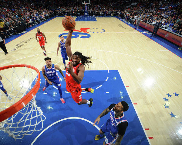 Nba Pro Basketball Poster featuring the photograph Kenneth Faried by Jesse D. Garrabrant
