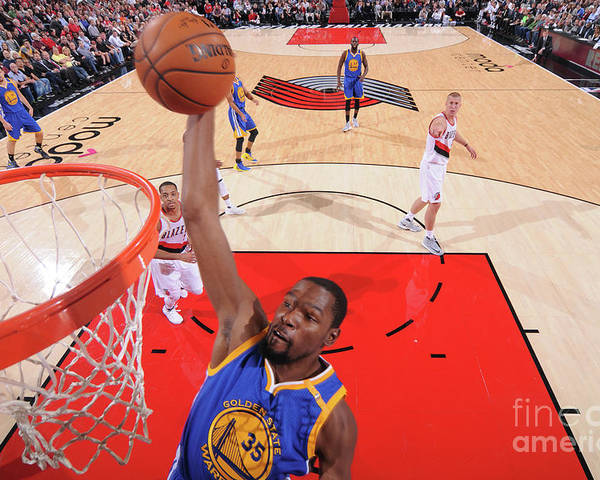 Nba Pro Basketball Poster featuring the photograph Kevin Durant by Sam Forencich