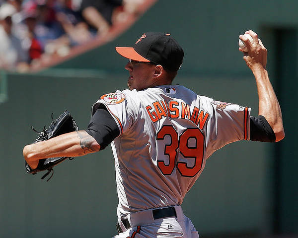 American League Baseball Poster featuring the photograph Kevin Gausman by Jim Rogash