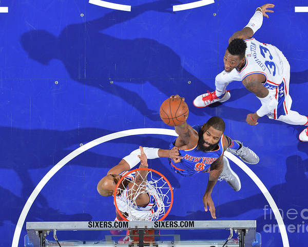 Nba Pro Basketball Poster featuring the photograph Kyle O'quinn by Jesse D. Garrabrant