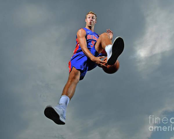 Nba Pro Basketball Poster featuring the photograph Luke Kennard by Jesse D. Garrabrant
