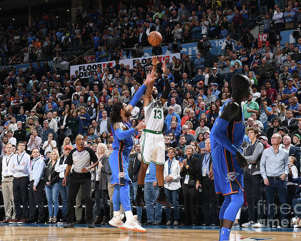 Nba Pro Basketball Poster featuring the photograph Marcus Morris by Garrett Ellwood