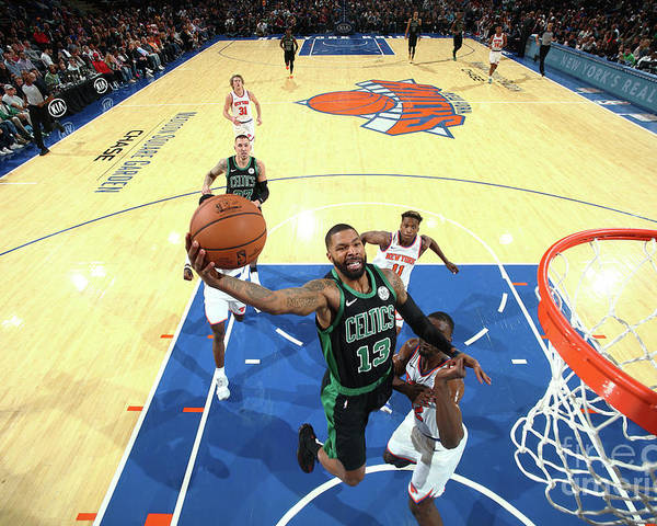 Nba Pro Basketball Poster featuring the photograph Marcus Morris by Nathaniel S. Butler