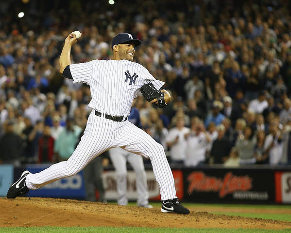 Ninth Inning Poster featuring the photograph Mariano Rivera by Al Bello